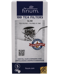 Filtre pentru ceai vrac Finum Tea Filters 100 buc