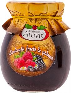 Dulceata fructe de padure Arovit 340g