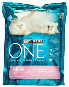 Hrana uscata pentru puii de pisici Purina One Junior 800g