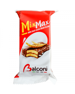 Mini prajitura cu crema cacao Mix Max Balconi 35g