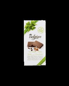 Ciocolata cu lapte si alune Belgian 100g