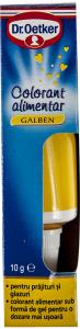 Colorant alimentar galben Dr.Oetker 10g