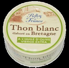 Ton alb Germon intreg in ulei de masline Reflets de France 160g