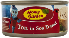 Ton in sos tomat Home Garden 170g