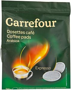 Cafea pur arabica expresso moka Carrefour 24x8.5g
