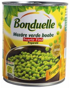 Mazare verde Bonduelle 800G
