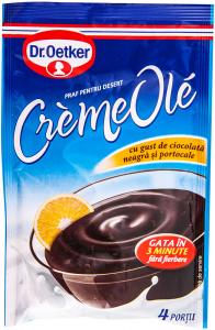 Praf pentru desert cu ciocolata neagra si portocale Dr. Oetker CremeOle76g