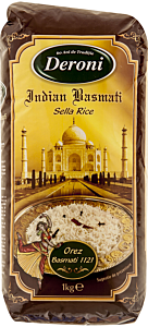 Orez Basmati Deroni Indian Basmati Sella Rice 1kg