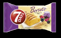 Croissant cu crema fructe de padure 7Days Borseto 80g