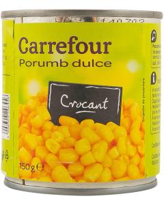 Porumb dulce crocant Carrefour 150g