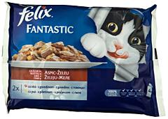 Hrana umeda pentru pisici gratar de vita pui