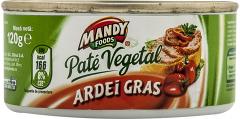 Pate vegetal cu ardei gras Mandy 120g