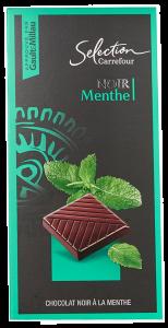 Ciocolata cu menta Carrefour 100g