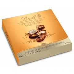Praline asortate Lindt Swiss Luxury Selection 145g