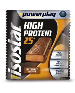 Isostar Powerplay High Protein Bar Alune, 3x35 g