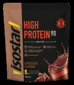 Pudra proteica 90% cu aroma de ciocolata Isostar Powerplay 400g