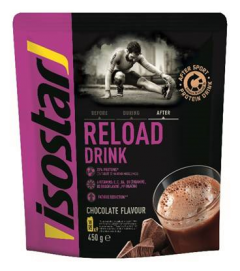 Pudra proteica recuperare dupa efort Isostar Reload After Sport 450g