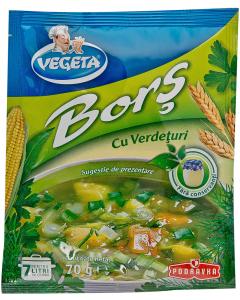 Bors cu verdeturi Vegeta 70g