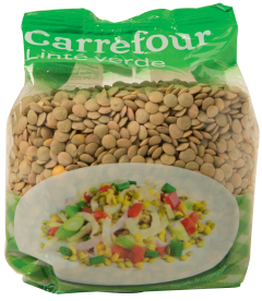 Linte verde Carrefour 500g