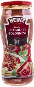 Baza pentru sos Bolognese pentru paste Heinz 500g
