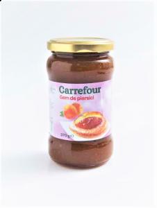 Gem de piersici Carrefour 370g
