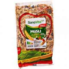 Musli cu fibre SanoVita 400g