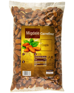 Migdale coapte Carrefour 500g