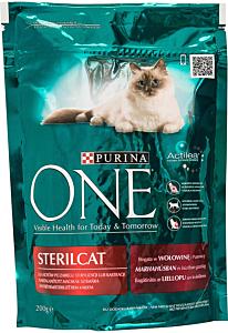 Hrana completa pentru pisici adulteOne Sterilcat  Purina 200 g