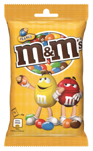 Arahide glazurate m&m'S 90g