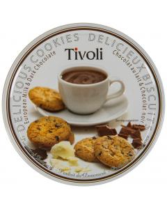 Cutie fursecuri cu ciocolata Tivoli 150G
