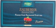 Ceai din fructe cu aroma fructe padure Zauberer 45g
