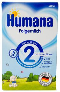 Lapte praf Humana 2GOS 600g