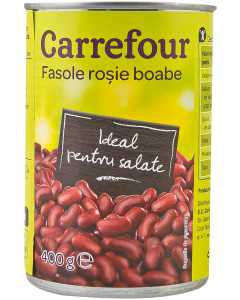 Fasole rosie boabe Carrefour 400g
