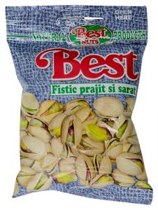 Fistic prajit si sarat Best Peanuts 50g