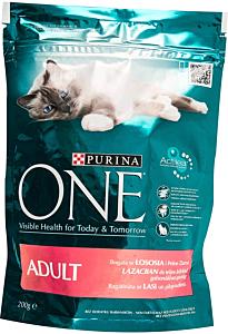 Hrana completa pentru pisici adulte One Adult Purina 200 g
