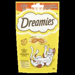 Hrana uscata pentru pisici cu branza delicioasa Dreamies 60 g