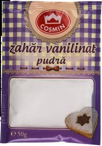 Zahar vanilat pudra Cosmin 50 g