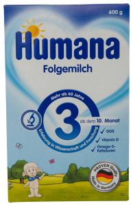 Lapte praf 3 Humana 600g