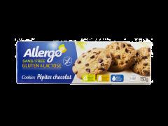 Fursecuri cu pepite de ciocolata Allergo 150g