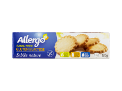 Biscuits sables Allergo 120g