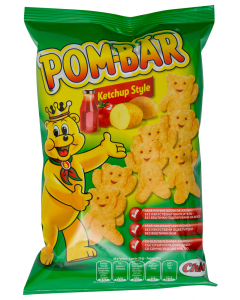 Snacks din cartofi ketchup Pom-Bar 40g