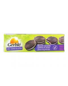 Biscuiti de cacao cu umplutura de vanilie Gerble 125g
