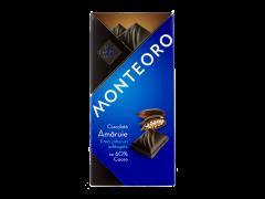 Ciocolata amaruie Monteoro 90g