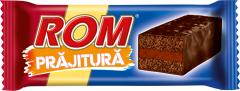 Prajitura cu crema rom si glazura de cacao Rom 35g