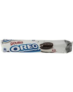 Biscuiti de cacao cu crema vanilie Oreo Double Creme 185g