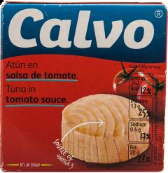 Conserva ton in sos de rosii Calvo 80g