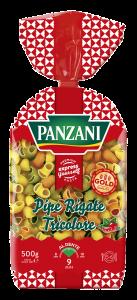 Pipe Rigate Tricolore Panzani 500g