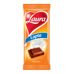 Ciocolata cu lapte Laura 90g