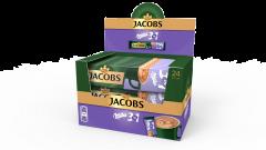Cafea solubila Jacobs 3in1 Milka 18g x 24 bucati