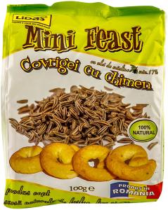 Covrigei cu chimen Mini Feast 100g